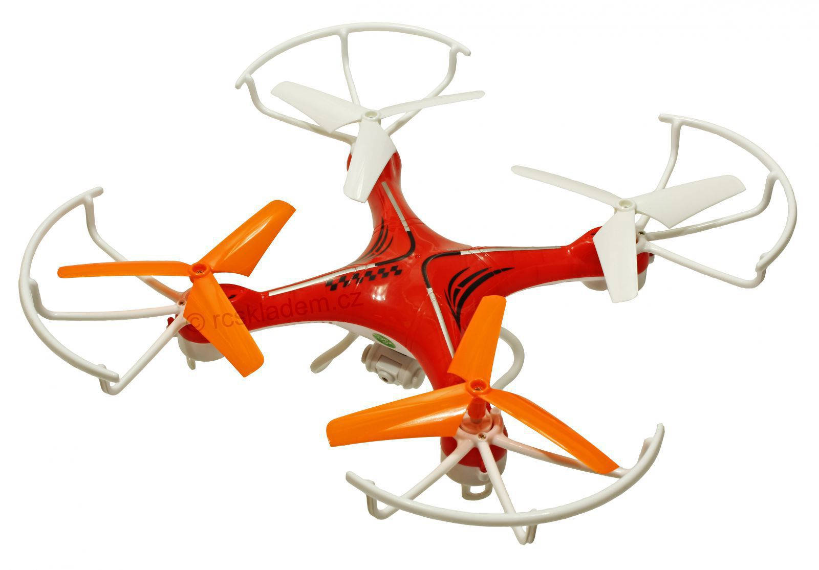 Dron Voyager s třílistými vrtulemi, kamerou MASTER PRO s extra baterií navíc až 20 minut letu