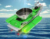 zakrmovací rybářská lod