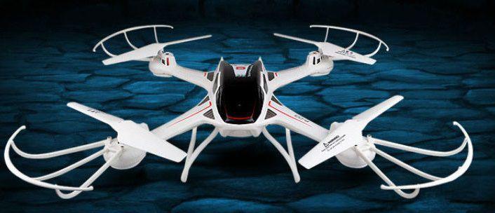 Dron S3W 58cm s wifi kamerou a dobou letu až 12minut
