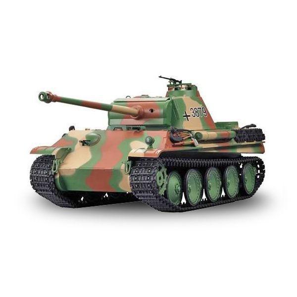 RC tank 1/16 GERMAN PANTHER TYPE G LATE VERSION maskovaný RCskladem