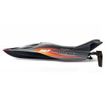 Závodní rychlostní RC loď AirShip Aqua-Mania - černá, bílá