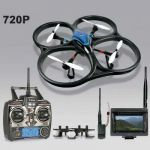 Dron Explorers 60,45 cm V393 s kamerou 720p FPV a střídavými motory