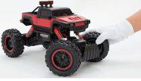 Hummer Truck Maistro 2,4Gh 36cm do nejnáročnějšího terénu - červený