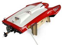 Profi laminátový závodní katamaran Sea Fire se střídavým motorem  65+km/h