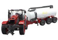 Traktor s cisternou na dálkové ovládání 48cm
