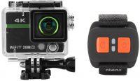4K Wifi kamera 20MPX s displejem a dálkovým ovládáním pro drony i sportovní využití