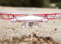 STRIKER Dron XA-6 38cm s kamerou a návratovým tlačítkem