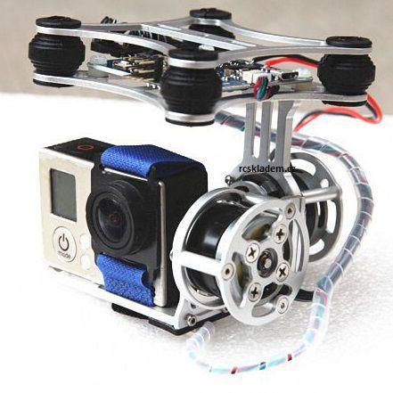 Gyroskopický držák kamery na dron