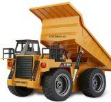Důlní sklápěč 4x4  s kovovými prvky a silným sklápěcím mechanizmem