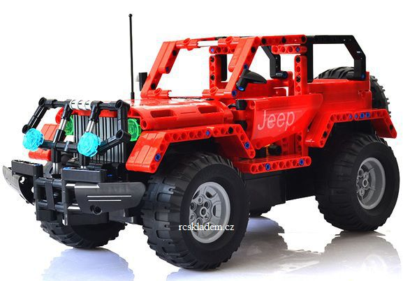 RC Jeep stavebnice