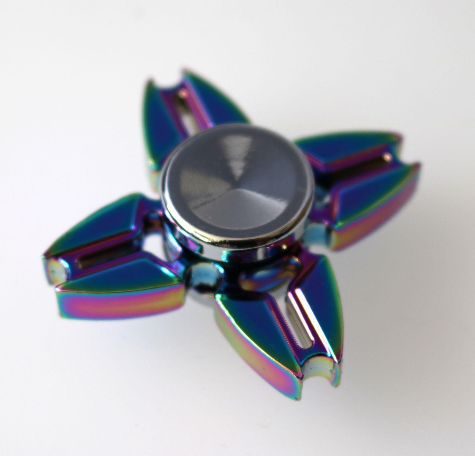 Fidget spinner - duhový kovák