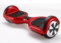 Hoverboard s bluetooth reproduktorem a dálkovým ovladačem  červený