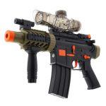 Puška na gelové kuličky BUBBLE GUN černá