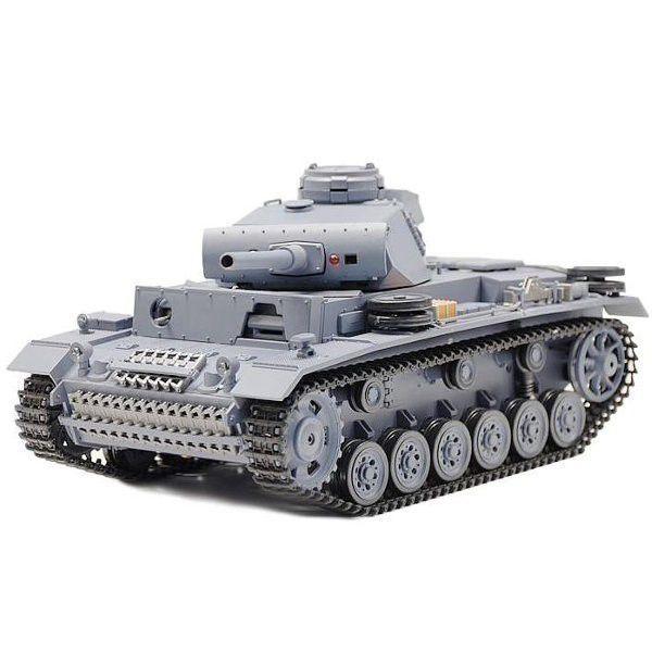 RC tank s kouřem a kovem 1/16 PANZERKAMPFWAGEN III AUSF.L SD.KFZ.1411 3848-1 HENG LONG