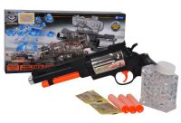 Revolver BUBBLE GUN s příslušenstvím