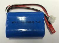 Baterie Li-Ion 1100mAh 7.4V pro dron L5