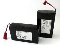 Baterie LiPol 10Ah 7.4V 2ks