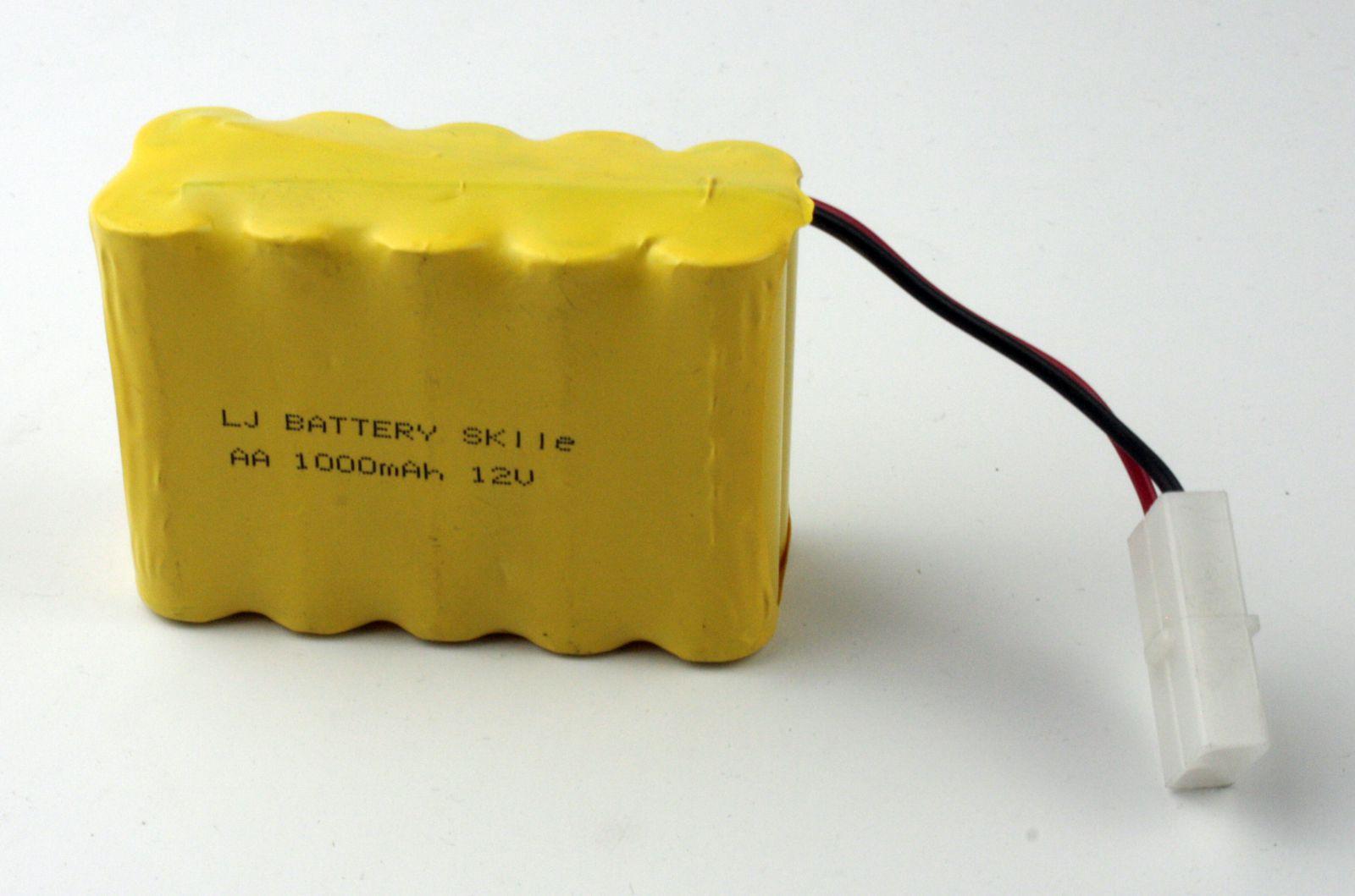 Baterie Ni-Cd 1000mAh 12V
