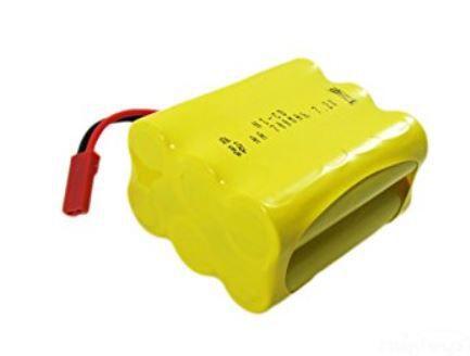 Baterie Ni-Cd 500mAh 7.2V