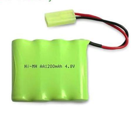 Baterie Ni-MH 1200mAh 4.8V