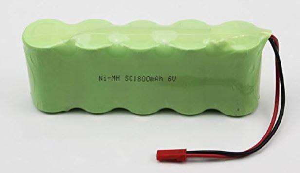 Baterie Ni-MH 1800mAh 6V