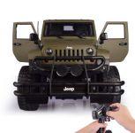 Jeep wrangler Rubicon 1:8, obrovské auto s nádhernými detaily 54 cm!