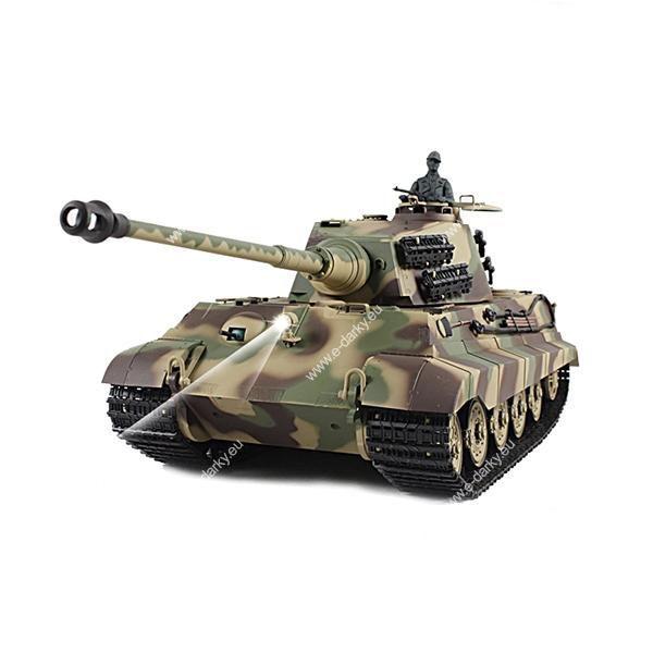 RC tank 1/16 German King Tiger Henschel Turret (Tiger II)