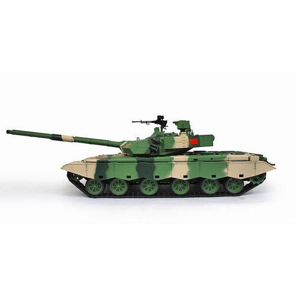 ZTZ 99A MBT kouř, střelba a zvuk