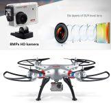 SYMA X8G 49cm s Full HD kamerou 8MPX EVOLUTION PRO verze, 4ks baterií navíc