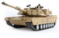 HENG LONG RC Tank M1A2 ABRAMS 1:16 - 69cm s kovovými prvky!