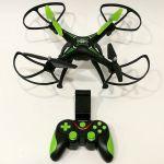 Nejlevnější dron s fixací výšky a wifi přenosem na trhu