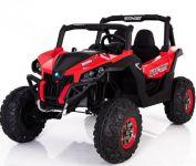 BIG BOY Brutální čtyřmotorové ATV délka 130cm dvousedačkové s měkčenými koly červené