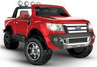 BIG BOY FORD RANGER Licencované čtyřmotorové dětské elektrické autíčko délka 135cm červená metalíza