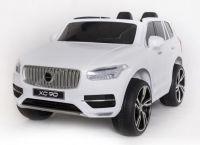 BIG BOY VOLVO XC90 Licencované elektrické autíčko v bílé metalíze