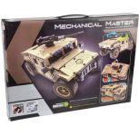 RC stavebnice Mechanical Master Armádní vozidlo s otočným kulometem 2.4G