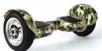 Hoverboard Off road s bluetooth reproduktorem a dálkovým ovladačem kamuflážový