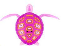 S robotickou pohyblivou želvou si vaše děti pohrají na souši i na zemi. Hračka se pohybuje pomocí ploutví, na baterky.