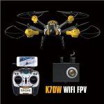 XXL Supersilný dron SKY WARRIOR K70 55,7cm s náklápěcí WIFI HD kamerou