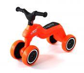 Zábavné lehké dětské odrážedlo oranžové