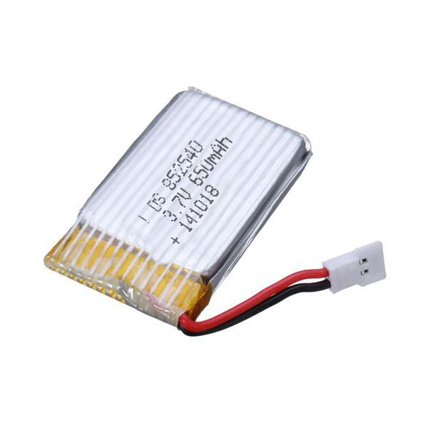 Baterie LiPol 650mAh 3.7V