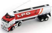 Mini RC Přepravní cisterna 1:98 27MHz červeno-bílá