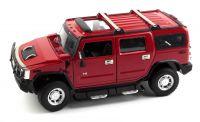 MZ Hummer H2 1:24 model autíčka, červený