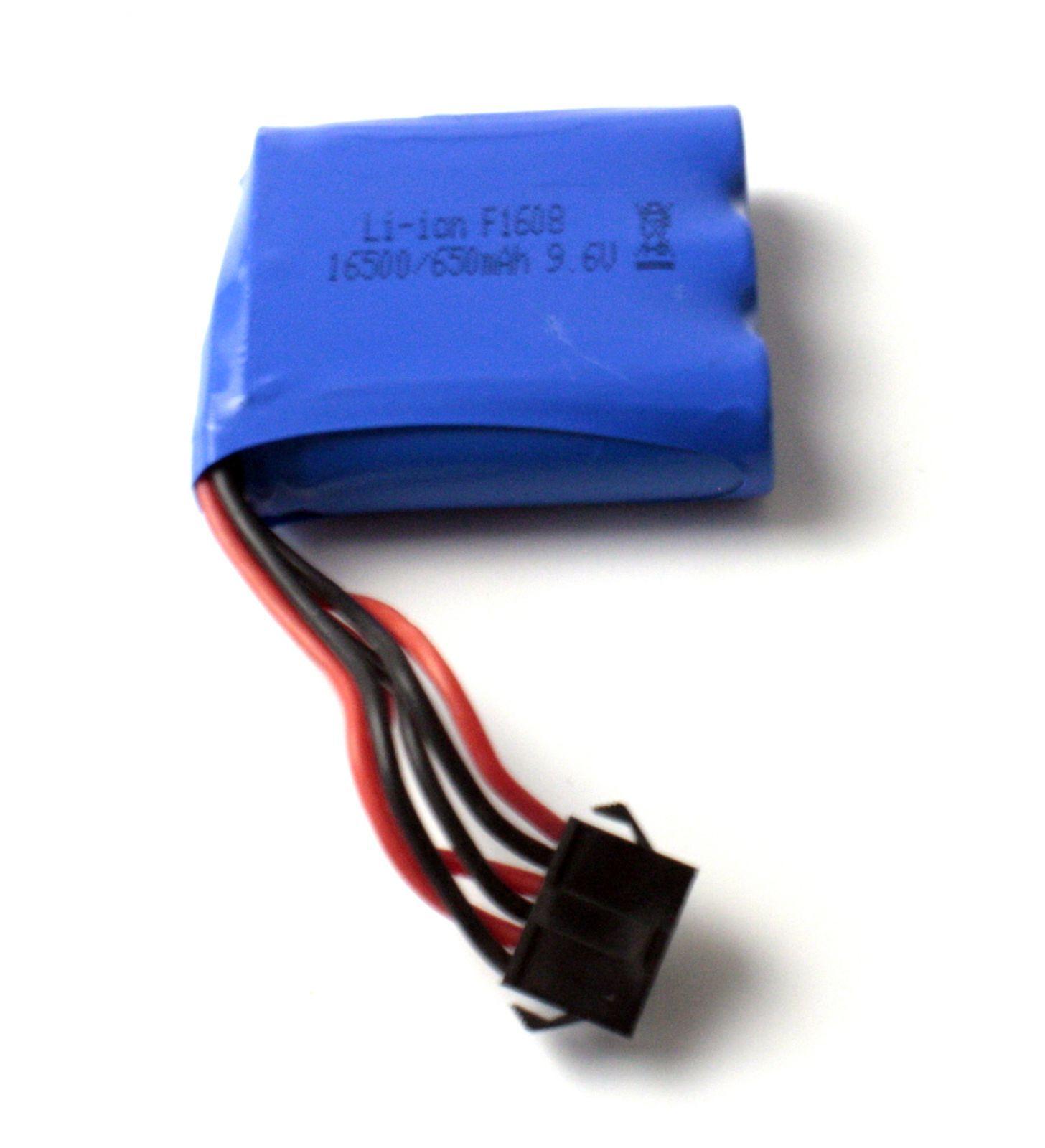 Baterií 9.6V 650mAh
