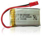 Sada 5ks baterií LiPol 650mAh 3.7V pro dron SKY KING, Falcon DM006