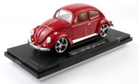 Volkswagen Beetle model autíčka 1:18 červený