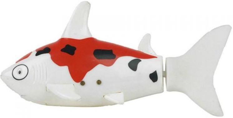 Identicky pohybující se hračka robotického žraloka na dálkové ovládání umožní vašim dětem radovat se z každé koupele.