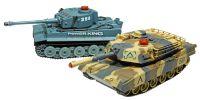Soubojové tanky Abrams + Tiger