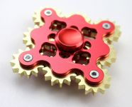 Dokonalý kovový spinner Závist