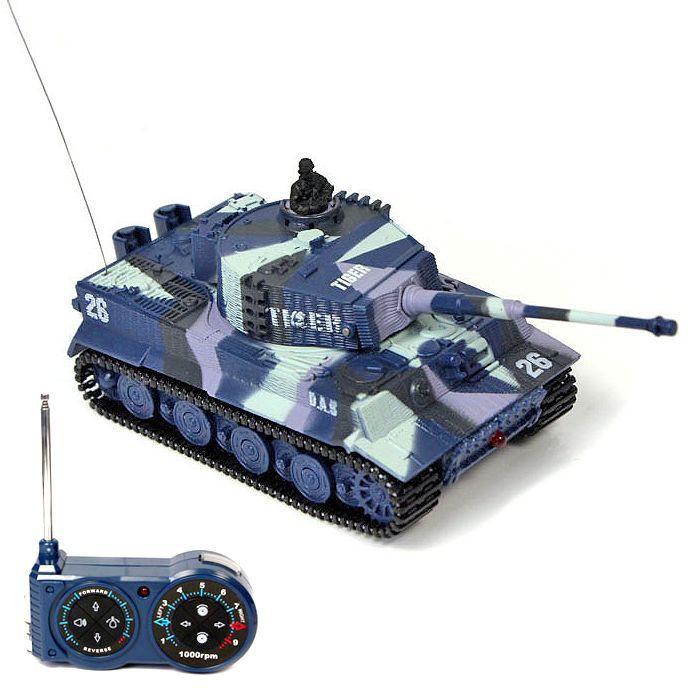 Mini tank TIGER 1/72
