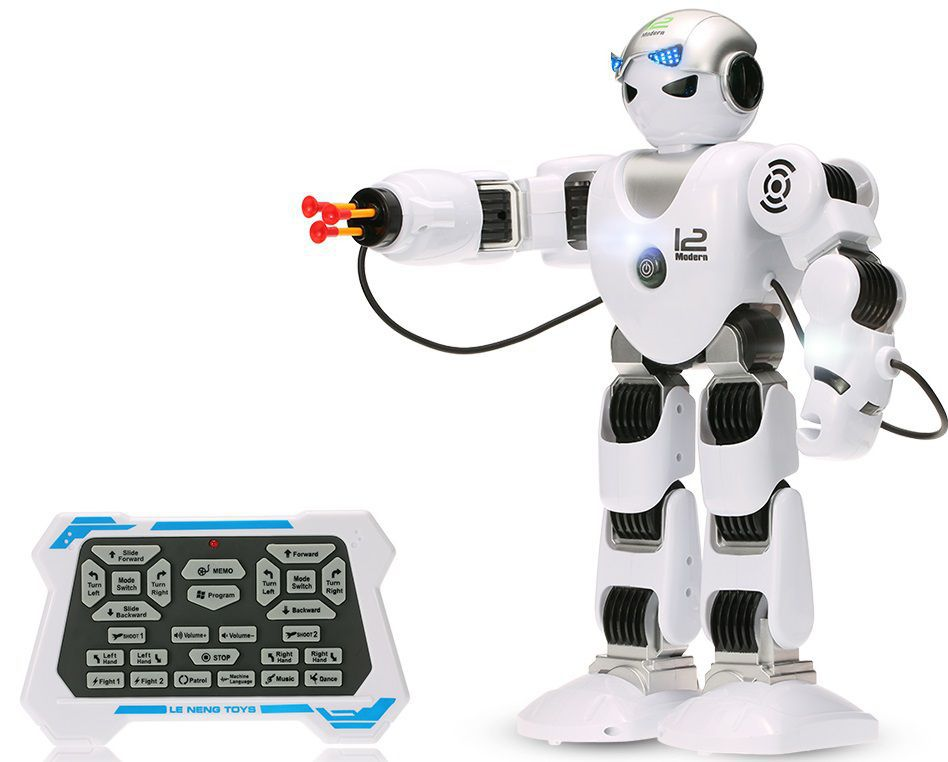 Programovatelný RC robot HUMANOID